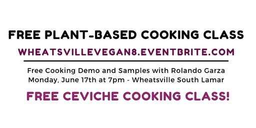 Free Vegan Cooking Class!