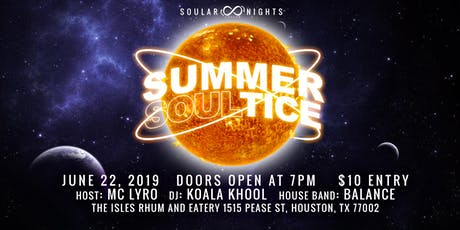 Soular Nights: Summer Soulstice tickets