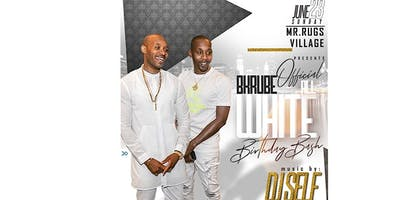 BK RUBE ALL WHITE BIRTHDAY BASH
