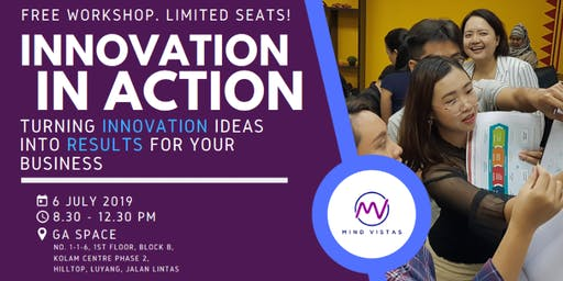 Innovation In Action (Free Workshop)