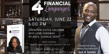 """4 Financial Languages"" Book Launch Party - Atlanta GA tickets"