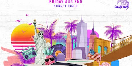The Deep Root Yacht: Sunset Disco Party tickets