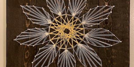 String Art Flower tickets
