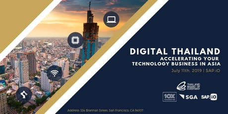 Digital Thailand: Accelerating Your Technology Business in Thailand tickets