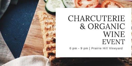 Local Charcuterie Board & Organic Wine Event