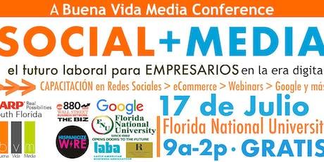 Social+Media: El Futuro Laboral Para Empresarios En Los Medios tickets