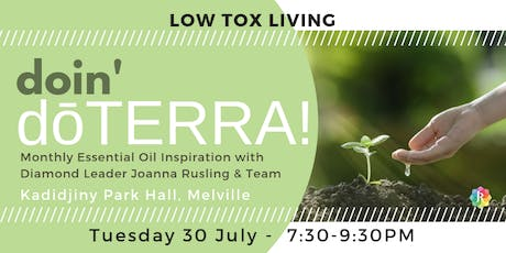 PERTH doin' dōTERRA - Low Tox Living tickets