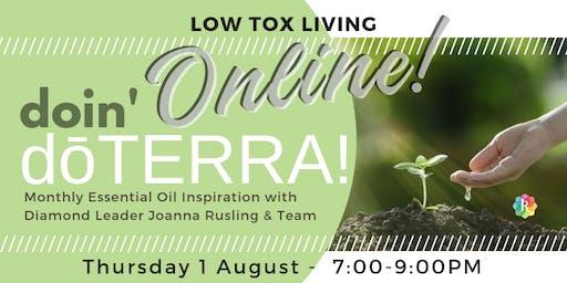 doin' dōTERRA ONLINE - Low Tox Living