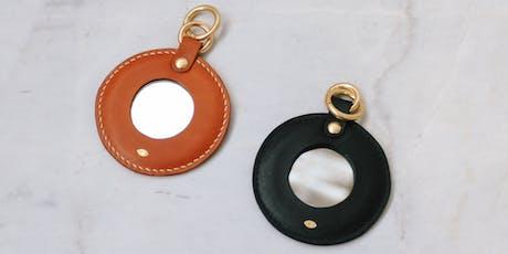 Make a Simétrie Leather Framed Mirror Charm - Aug 3rd tickets