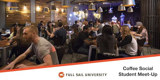 Full Sail University's Coffee Social, Student Meet-up