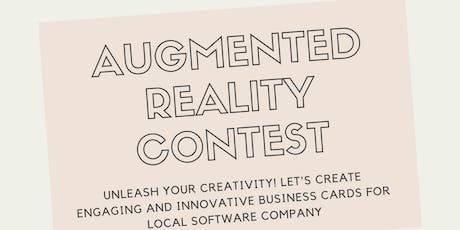 Augmented Reality Contest and Social Event tickets