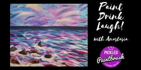 Painting Class - Peony Sea - July 18, 2019 tickets