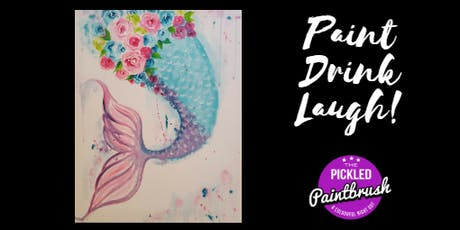 Painting Class - Mermaids Tail - July 10, 2019 tickets