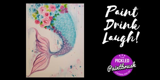 Painting Class - Mermaids Tail - July 10, 2019