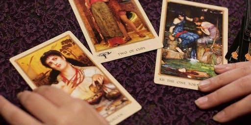 Tarot - The XVIII Moon Card. With Natalie