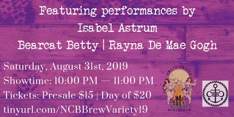 Brewlesque: A Variety Edition tickets