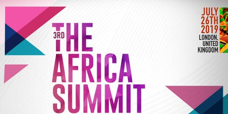 The Africa Summit London 2019 tickets