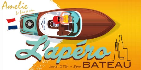 L'Apero Bateau - Join us and rock the boat! tickets