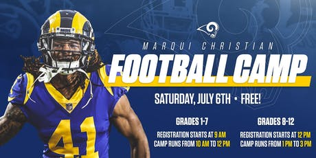 Marqui Christian Football Camp  tickets
