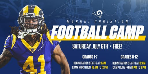Marqui Christian Football Camp