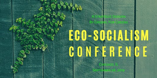 Eco-Socialism Conference