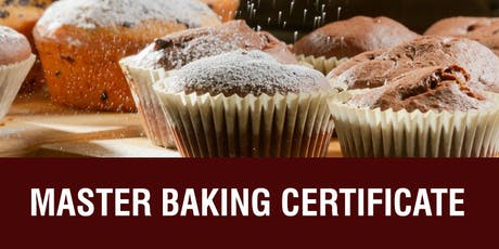 MASTER BAKING/PASTRY PROGRAM - 10 Weeks - Sundays, 9/15/19-11/17/19  tickets