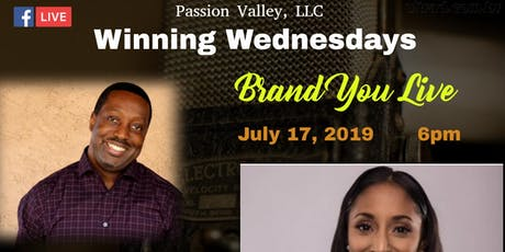 Winning Wednesdays- Brand You Live  tickets