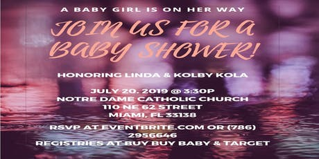 Tickled Pink Baby Shower tickets