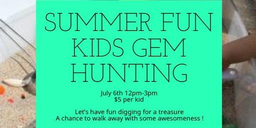 Kids Gem Hunting