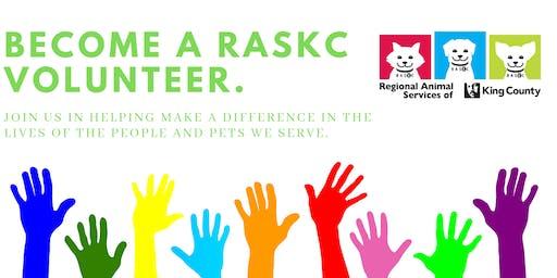 New Volunteer Orientation in Kirkland  (Sat., June 29 @ 2pm) Downtown Library