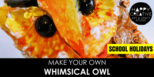 Whimsical Owl (Kids - AM)