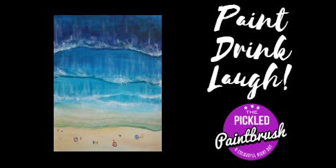 Painting Class - Birds Eye Beach - July 5, 2019