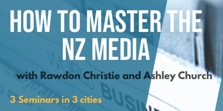 How to Master the Media tickets