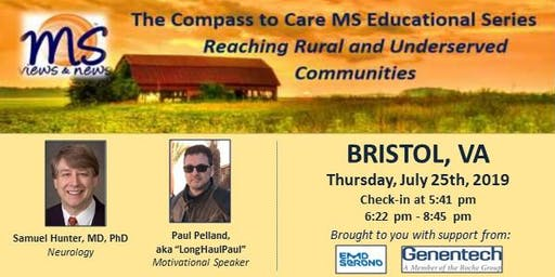 MULTIPLE SCLEROSIS Event in Bristol, VA: The Compass to Care