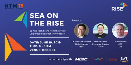 SEA ON THE RISE at Malaysia Tech Week 2019