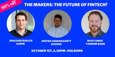 The Makers: The Future of Fintech tickets
