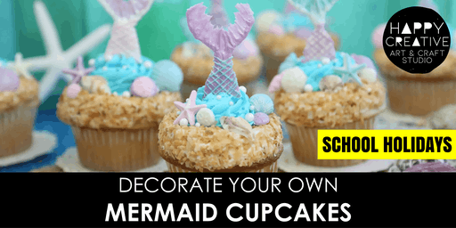 Mermaid Cupcakes (Kids - AM)