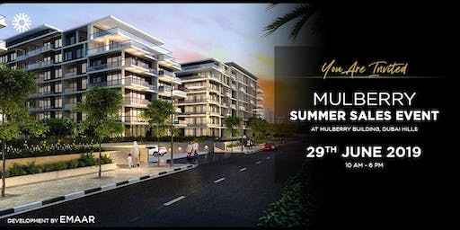 Mulberry Open House Summer Sales Event