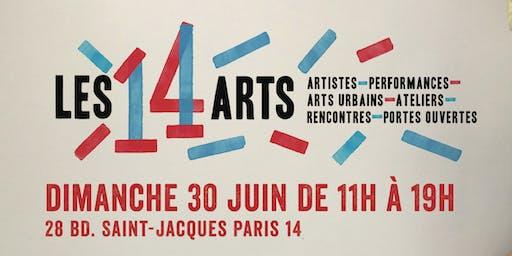 LES 14 ARTS - Au bout de l'Allée - Exposition collective d'art contemporain