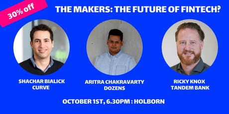 The Makers Conversation: A Fintech Special  tickets
