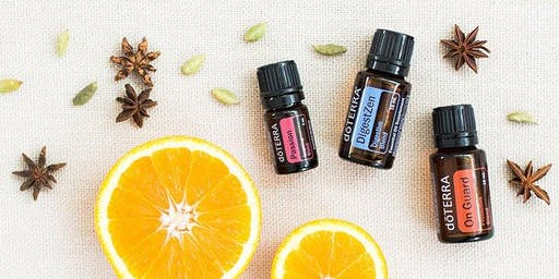 Essential Oils Class: Nature's Solutions