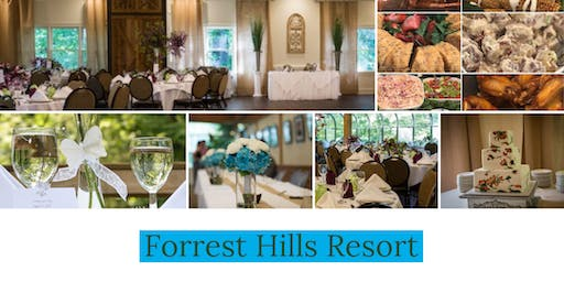 Forrest Hills Resort Annual Bridal Show and Menu Tasting