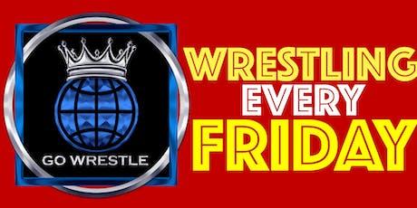 Go Wrestle! 112 Live Pro Wrestling Daytona Beach Friday June 21st tickets