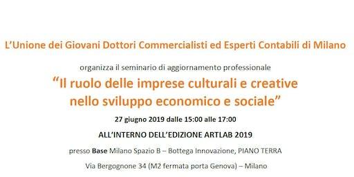 Il ruolo delle imprese culturali e creative nello sviluppo economico e sociale