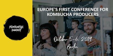 Kombucha Summit – Berlin 2019 Tickets