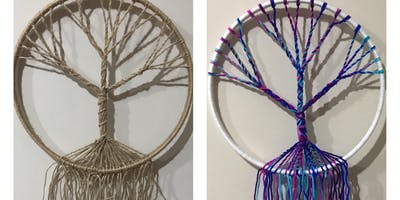 Make your own Tree-of-Life dreamcatcher!