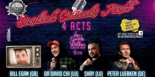 English Comedy Night at Gudde Wellen
