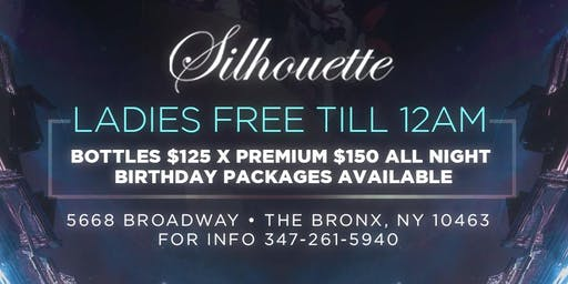 LADIES FREE! UNTIL 12AM X UPSCALE FRIDAYS @ SILHOUETTE LOUNGE