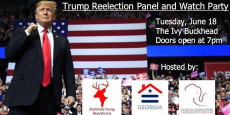 Buckhead YR & GACR: Trump Re-Election Panel and  Watch Party tickets