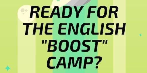 English Boost Camp für die weiterführende Schule